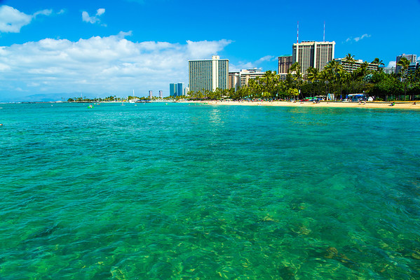 Waters by Waikiki Beach