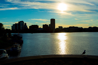 Ottawa River and City of Gatineau