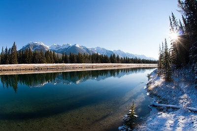 Canal from Two Jack Lake at Banff