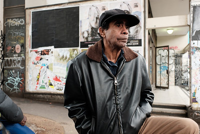 Aboriginal Man in an Urban Environment