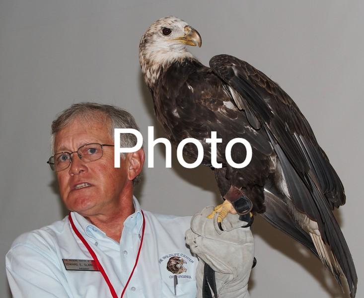 Buddy The Eagle with Mr.Edward