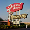 """<div class=""""boxTop""""><h3 id=""""galleryTitle"""" class=""""title notopmargin"""">Charcoal Oven Hamburgers, NW Expressway.</h3> Medium Format / 120 Color Film."""