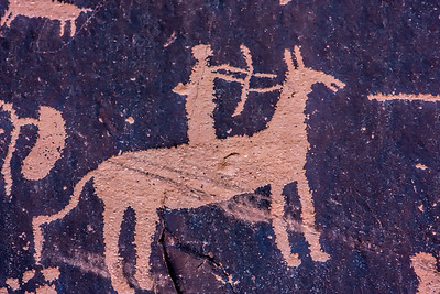 Petroglyphs at Newspaper Rock, Indian Creek, Utah