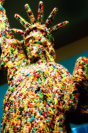 Candy Statue of Liberty
