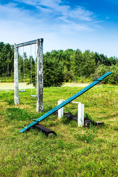 Vintage Swing and Seesaw