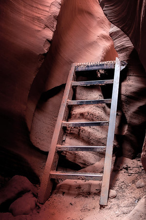 Steps in Lower Antelope Canyon
