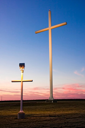 Large White Crosses