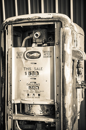 Old Gas Tank