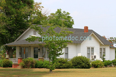 Small White Country House
