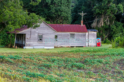 Old House with Pepsi Machine