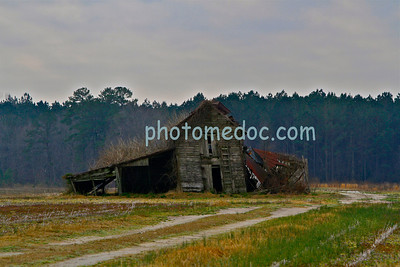 Old Farming Barn