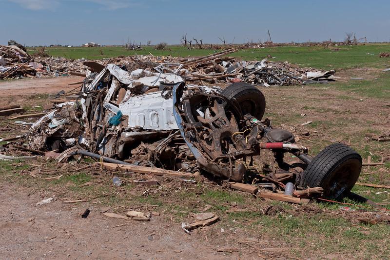 Tornado Damage: Piedmont, OK