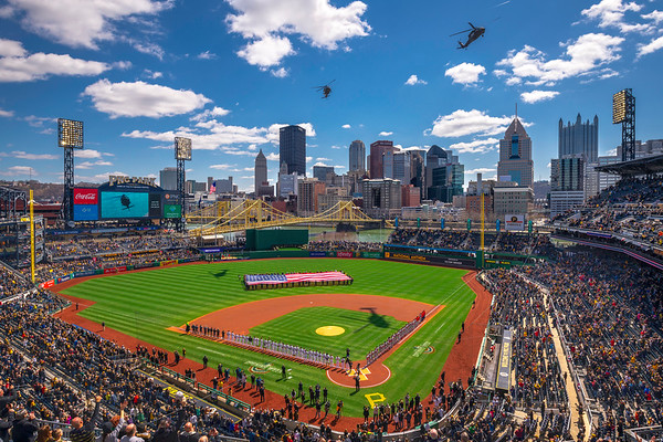 """""""Opening Day '19"""" - Pittsburgh, PNC Park   Recommended Print sizes*:  4x6  