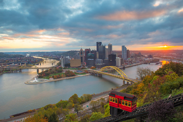 """Sublimely Subtle"" - Pittsburgh, Mount Washington   Recommended Print sizes*:  4x6  