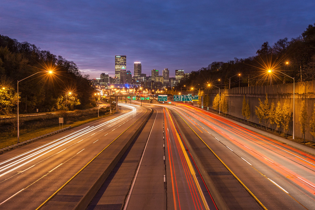 """""""Rush Hour"""" - Pittsburgh, North   Recommended Print sizes*:  4x6  