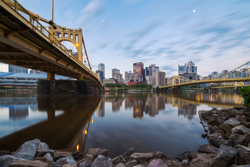"""Reflecting Pool"" - Pittsburgh, North Shore   Recommended Print sizes*:  4x6  