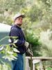 Gardener taking a Short Break