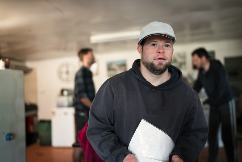 Man with a beard and a cap