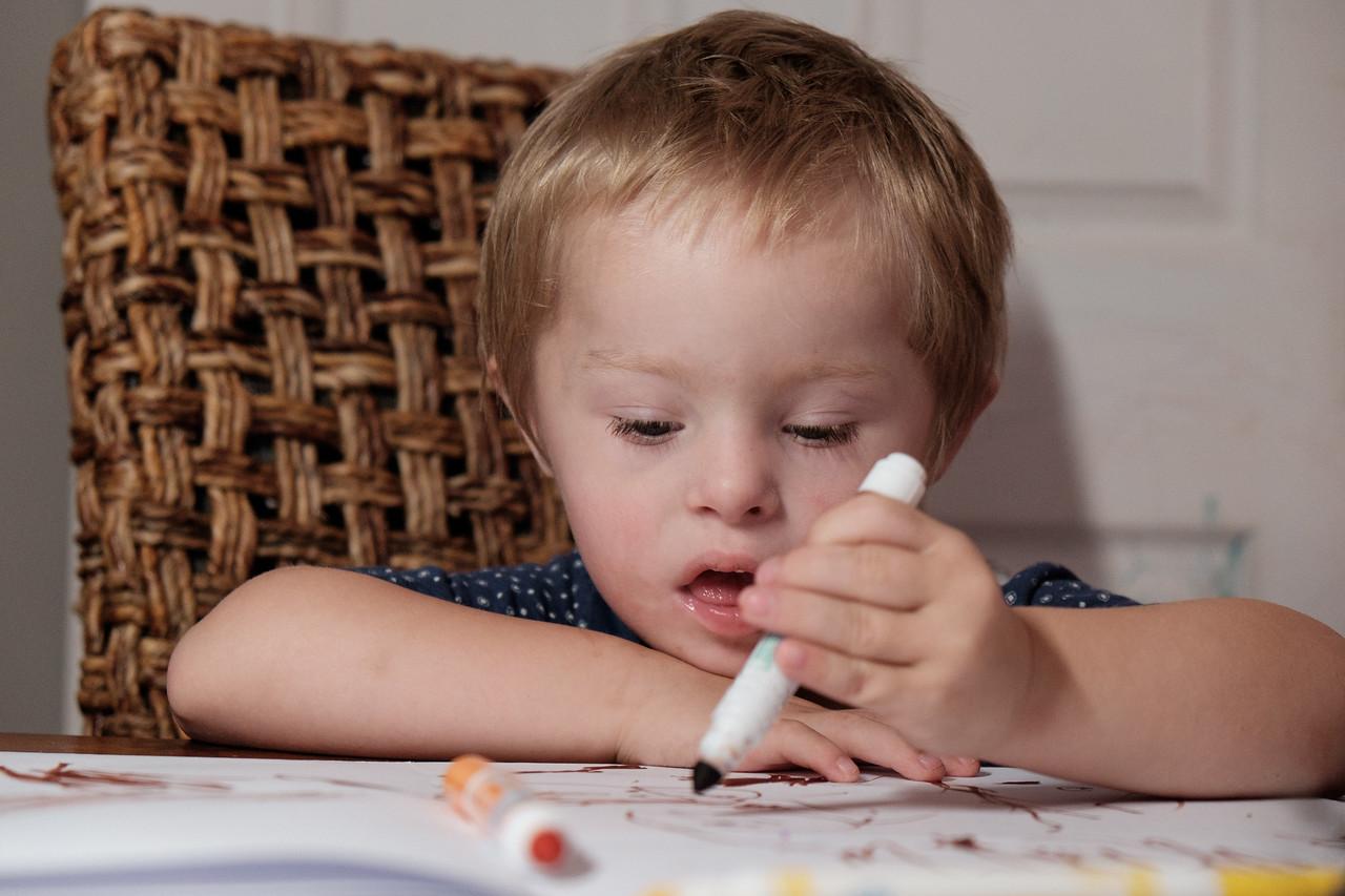 Boy with a Felt-Tip Pen