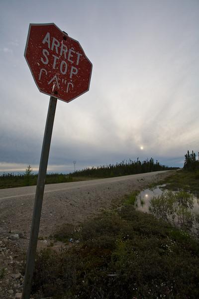QC-2008-058: Waskaganish Road, Eeyou Istchee James Bay Territory, QC, Canada