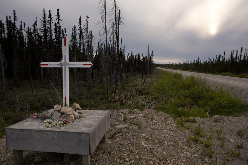 QC-2008-057: Waskaganish Road, Eeyou Istchee James Bay Territory, QC, Canada