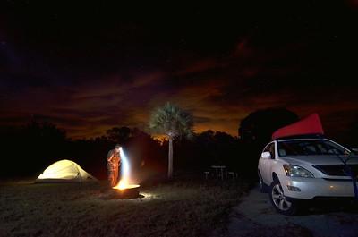 Camping At Flamingo