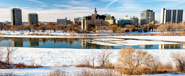 City of Saskatoon Winter Panoramic