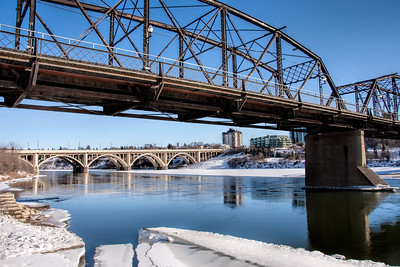 Saskatoon is the City of Bridges
