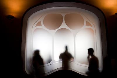Ventana, Casa Batlló, obra de Gaudí, paseo de Gracia, Barcelona