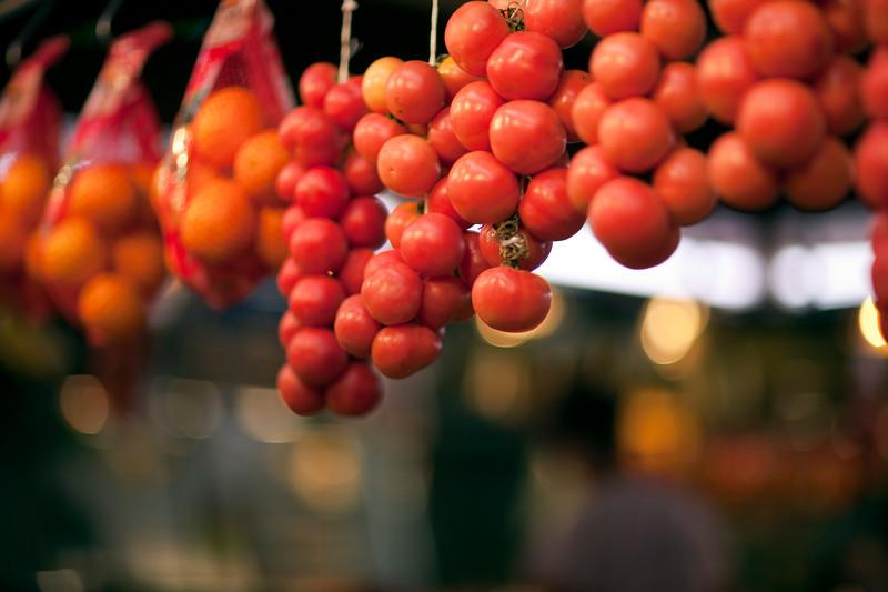 Tomates, Mercado de la Boquería, Barcelona