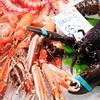 Crawfish and lobster, Boqueria market, town of Barcelona, autonomous commnunity of Catalonia, northeastern Spain