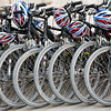 Bikes, town of Barcelona, autonomous commnunity of Catalonia, northeastern Spain