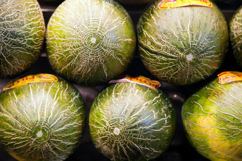 Melones, Mecado de la Boquería, Barcelona
