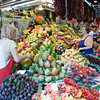 Fruit shop, Boqueria market, town of Barcelona, autonomous commnunity of Catalonia, northeastern Spain