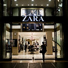 Zara shop on Passeig de Gracia, town of Barcelona, autonomous commnunity of Catalonia, northeastern Spain
