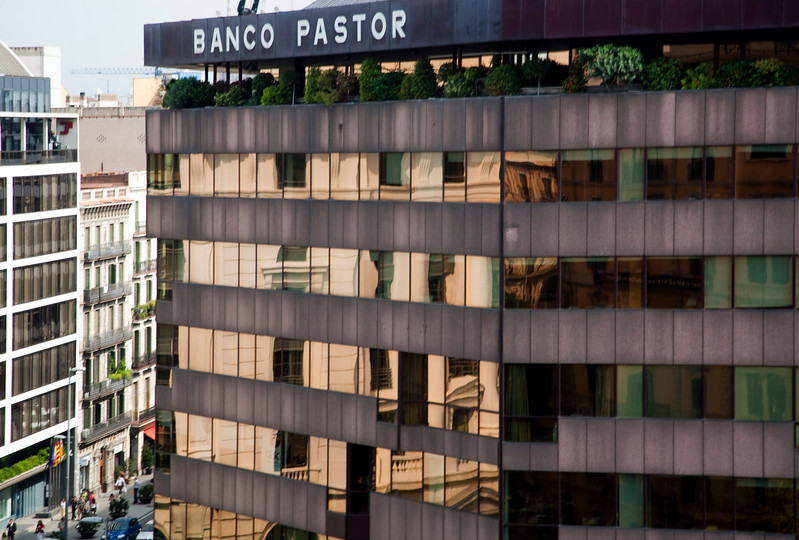 Pastor Bank, Passeig de Gracia, town of Barcelona, autonomous commnunity of Catalonia, northeastern Spain