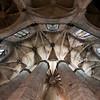 Bóveda del deambulatorio de Santa María del Mar, Barcelona