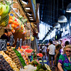 Boqueria market, town of Barcelona, autonomous commnunity of Catalonia, northeastern Spain