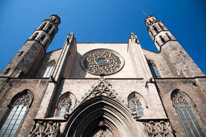 Iglesia gótica de Santa María del Mar, Barcelona