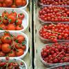 Tomates cherry y grosellas, Mecado de la Boquería, Barcelona