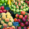 Fruit, Boqueria market, town of Barcelona, autonomous commnunity of Catalonia, northeastern Spain