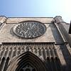 Santa Maria del Mar church facade, town of Barcelona, autonomous commnunity of Catalonia, northeastern Spain