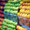 Fruits, Boqueria market, town of Barcelona, autonomous commnunity of Catalonia, northeastern Spain