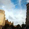 Buildings on Passeig de Gracia, town of Barcelona, autonomous commnunity of Catalonia, northeastern Spain
