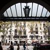Vista de las Ramblas desde el Teatro del Liceo, Barcelona