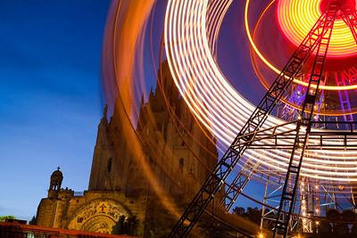 Noria del parque de atracciones del Tibidabo, Barcelona