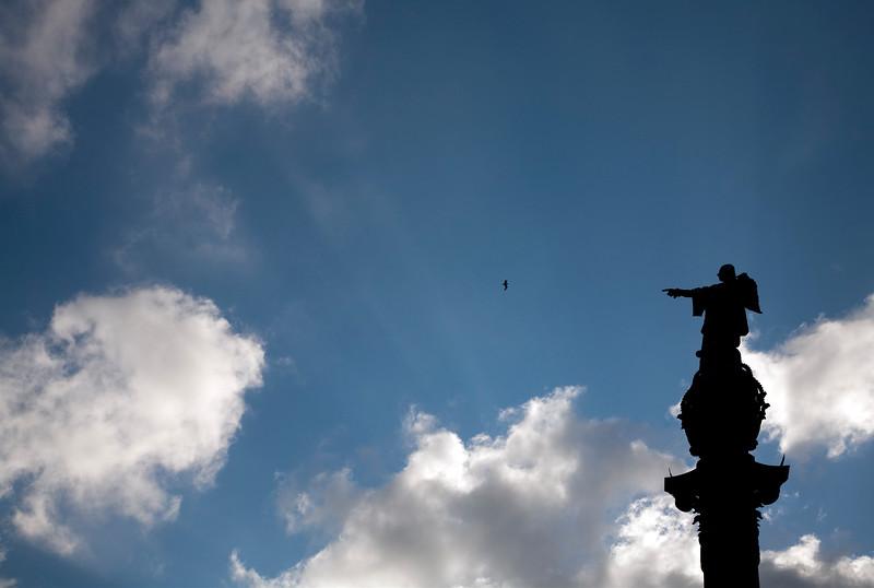Estatua de Colón, Barcelona