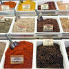 Spices, Boqueria market, town of Barcelona, autonomous commnunity of Catalonia, northeastern Spain