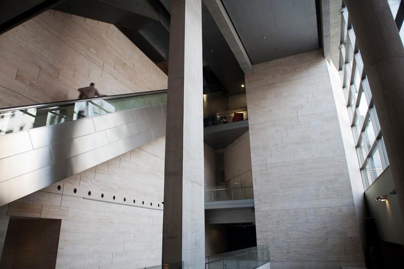 Interior del Centro de Cultura Contemporánea de Barcelona