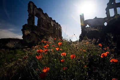 Ruins of San Antonio de Padua convent (15th century), Garrovillas, Caceres, Extremadura, Spain